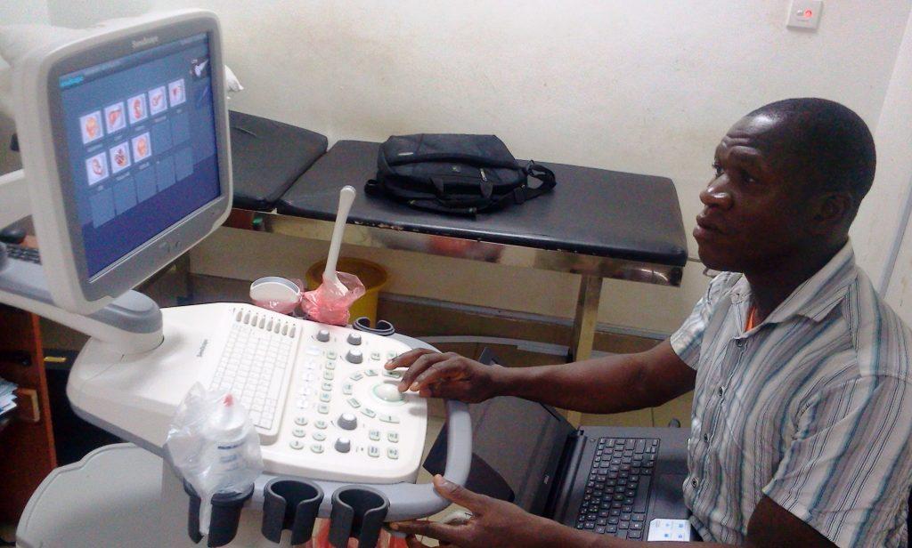 Installation of Sonoscape Ultrasound Machine at Kwara Advance, Ilorin, Nigeria.