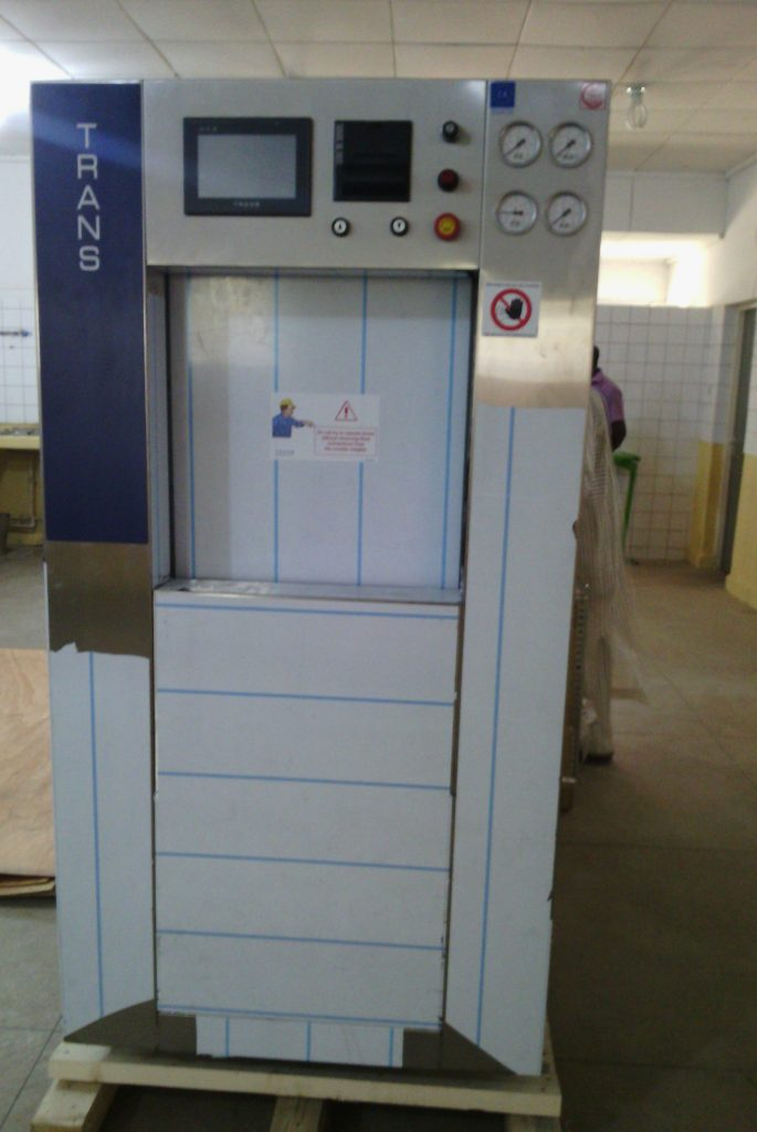 Installation of Steam Sterilizer at Federal Teaching  Hospital,  Gombe, Nigeria.