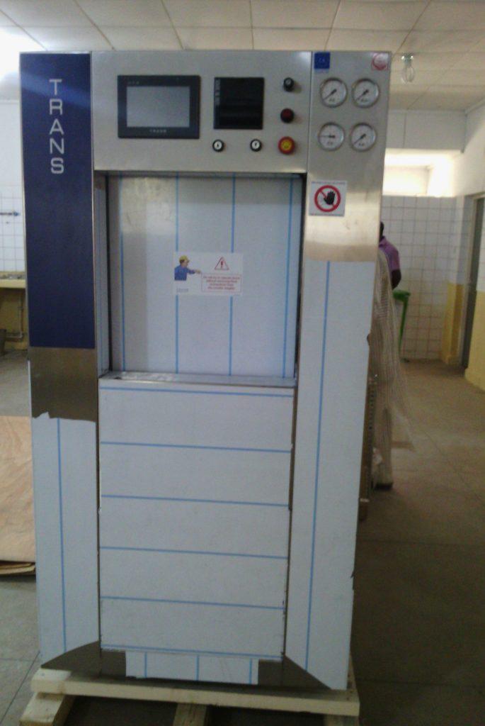 Installation of Steam Sterilizer at Federal Teaching  Hospital,  Gombe, Nigeria.