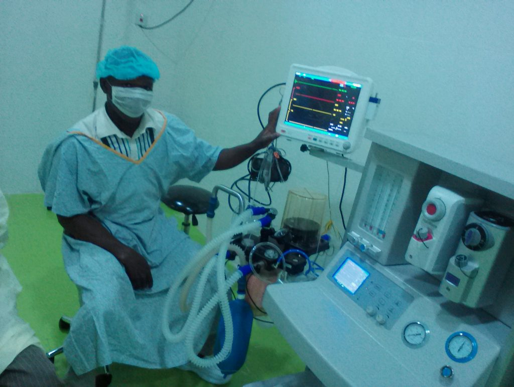 Installation of Anaesthesia at University of Ilorin Teaching Hospital, Kwara State.